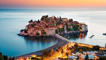 Car rental in Sveti Stefan